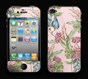 Natur og papegøye Skin IPhone 4/4s