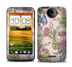 Parrot & flowers Skin One X
