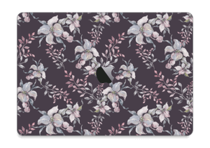 "Purple & flowers  Skin MacBook Pro 13"" 2016-"