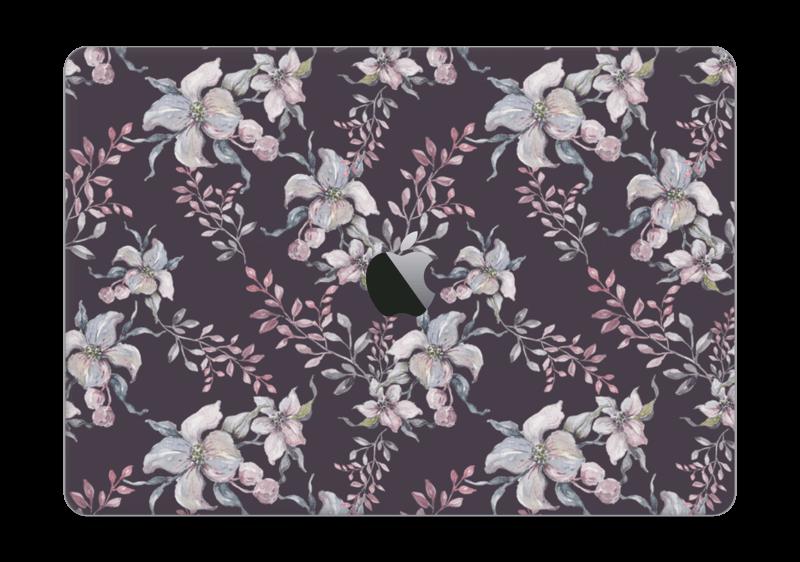 "Lilla blomster Skin MacBook Pro 13"" 2016-"