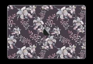 "Lilla blomster Skin MacBook Pro 15"" 2016-"