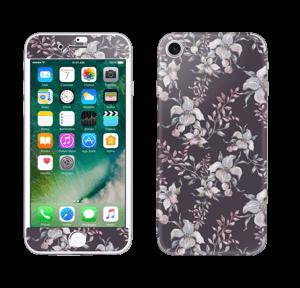 Purple & flowers  Skin IPhone 7
