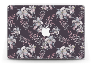 "Purple & flowers  Skin MacBook Pro Retina 13"" 2015"