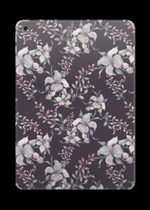 Purple & flowers  Skin IPad 2017