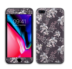 Lilla blomster Skin IPhone 8 Plus