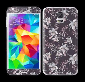 Lilla blomster Skin Galaxy S5
