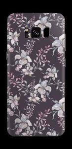 Lila Blumen Skin Galaxy S8