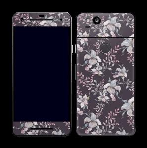 Lilla blomster Skin Pixel 2
