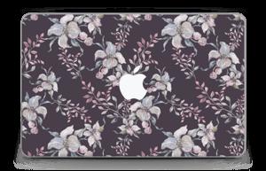 """Purple & flowers  Skin MacBook Air 11"""""""