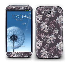Blomster i lila Skin Galaxy S3