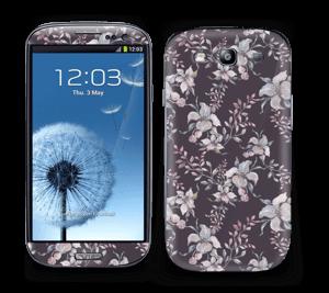 Purple & flowers  Skin Galaxy S3