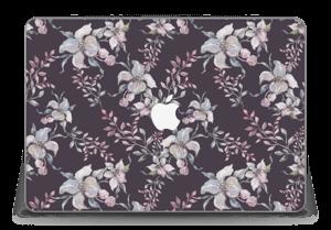 "Purple & flowers  Skin MacBook Pro Retina 15"" 2015"