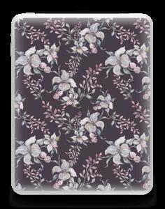 Purple & flowers  Skin IPad 1