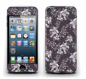 Lila Blumen Skin IPod Touch 5th Gen