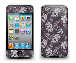 Lilla blomster Skin IPod Touch 4th Gen