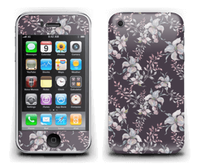 Lilla blomster Skin IPhone 3G/3GS
