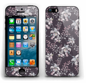 Lilla blomster Skin IPhone 5s