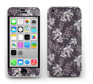 Lilla blomster Skin IPhone 5c