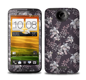 Lilla blomster Skin One X