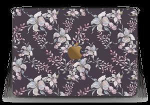 """Purple & flowers  Skin MacBook 12"""""""