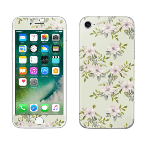 Roze bloemen  Skin IPhone 7