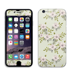Rosa blomster Skin IPhone 6/6s