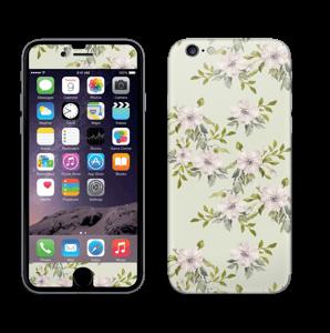 Fleurs roses   Skin IPhone 6/6s
