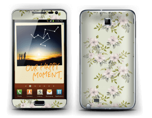 Flowers in light pink   Skin Galaxy Note
