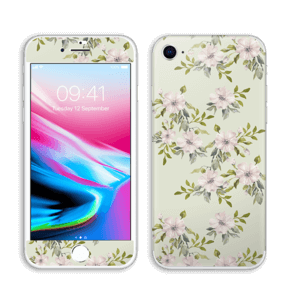 Flowers in light pink   Skin IPhone 8