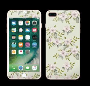 Rosa blomster Skin IPhone 7 Plus