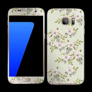 Fleurs roses   Skin Galaxy S7