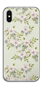 Flowers in light pink   Skin IPhone X