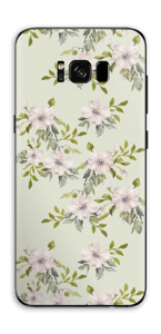 Fleurs roses   Skin Galaxy S8 Plus