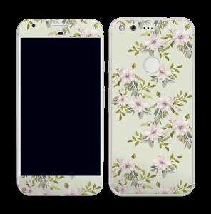 Fleurs roses   Skin Pixel