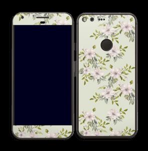 Fleurs roses   Skin Pixel XL