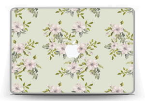 "Rosa blomster Skin MacBook Pro 13"" -2015"