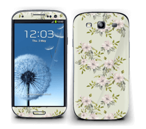 Rosa blomster Skin Galaxy S3