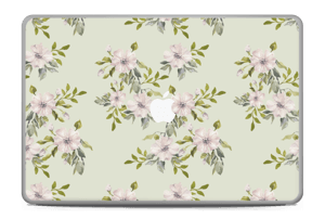 "Flowers in light pink   Skin MacBook Pro 17"" -2015"