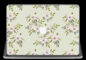 "Rosa blomster Skin MacBook Pro Retina 15"" 2015"