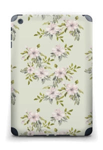 Rosa blomster Skin IPad mini 2 back