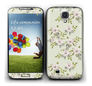 Flowers in light pink   Skin Galaxy S4