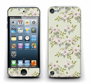 Rosa Blumen   Skin IPod Touch 5th Gen