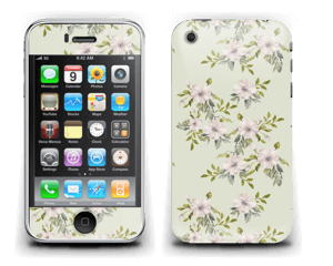 Rosa blomster Skin IPhone 3G/3GS