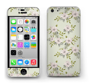 Flowers in pink   Skin IPhone 5c