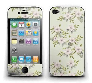 Rosa blomster Skin IPhone 4/4s