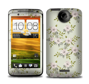 Rosa blomster Skin One X