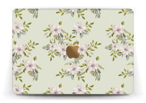 Rosa blomster Skin MacBook 12""