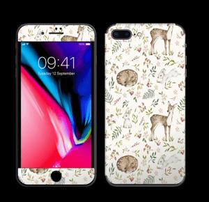 Dier en natuur in 1   Skin IPhone 8 Plus