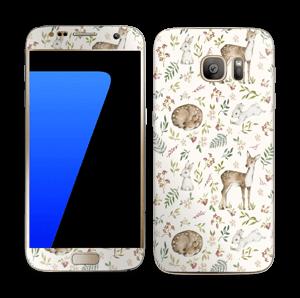Dier en natuur in 1   Skin Galaxy S7