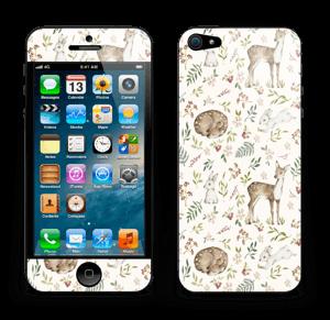 Dier en natuur in 1   Skin IPhone 5